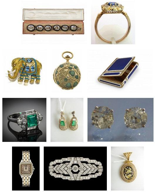 Bijoux or et argent - antiquités