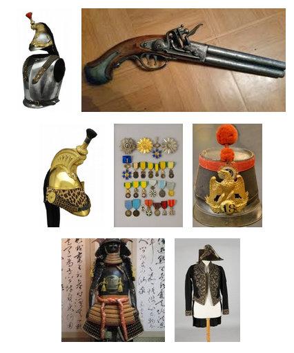 Armes anciennes et militaria