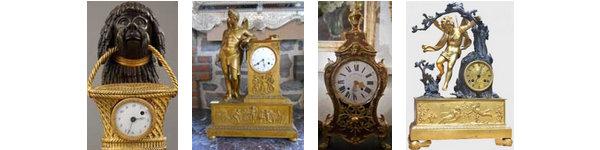 Antiquités / pendules